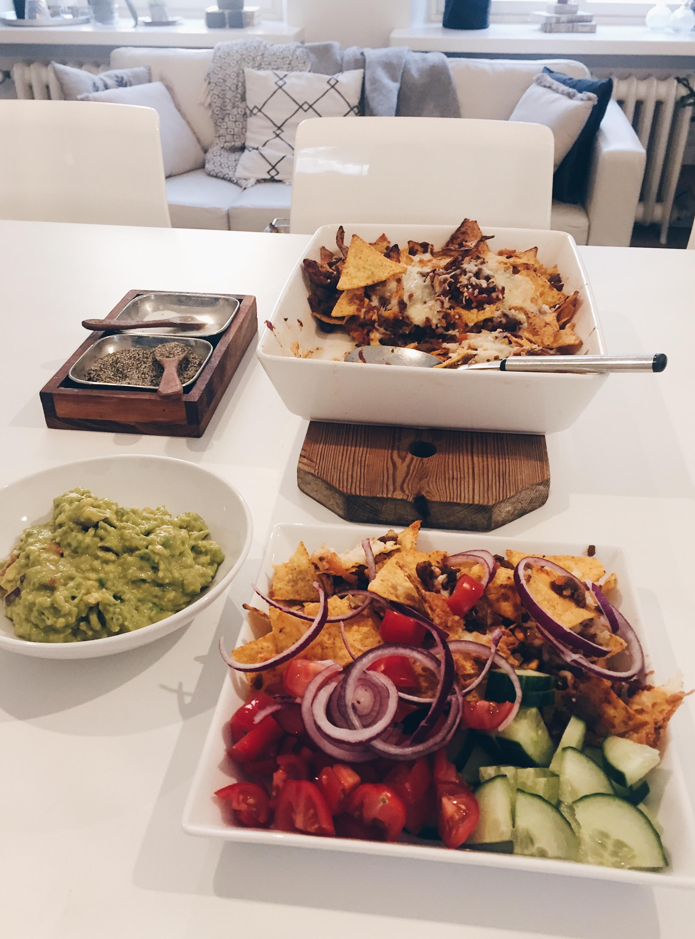 Härkis nacho -vuoka